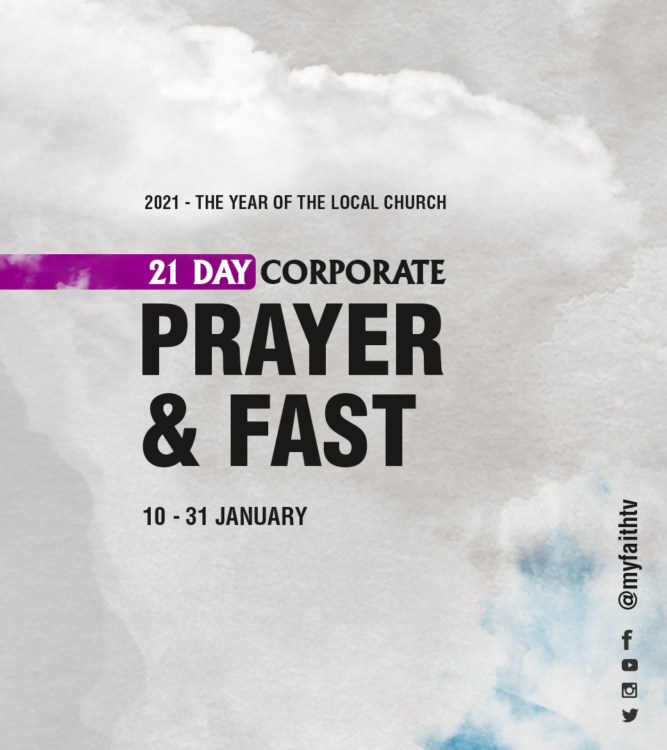21 DAY CORPORATE PRAYER AND FAST